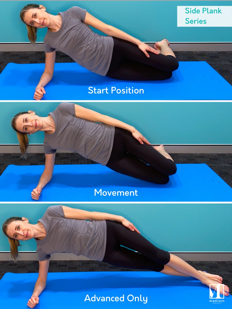 ab exercises side plank series